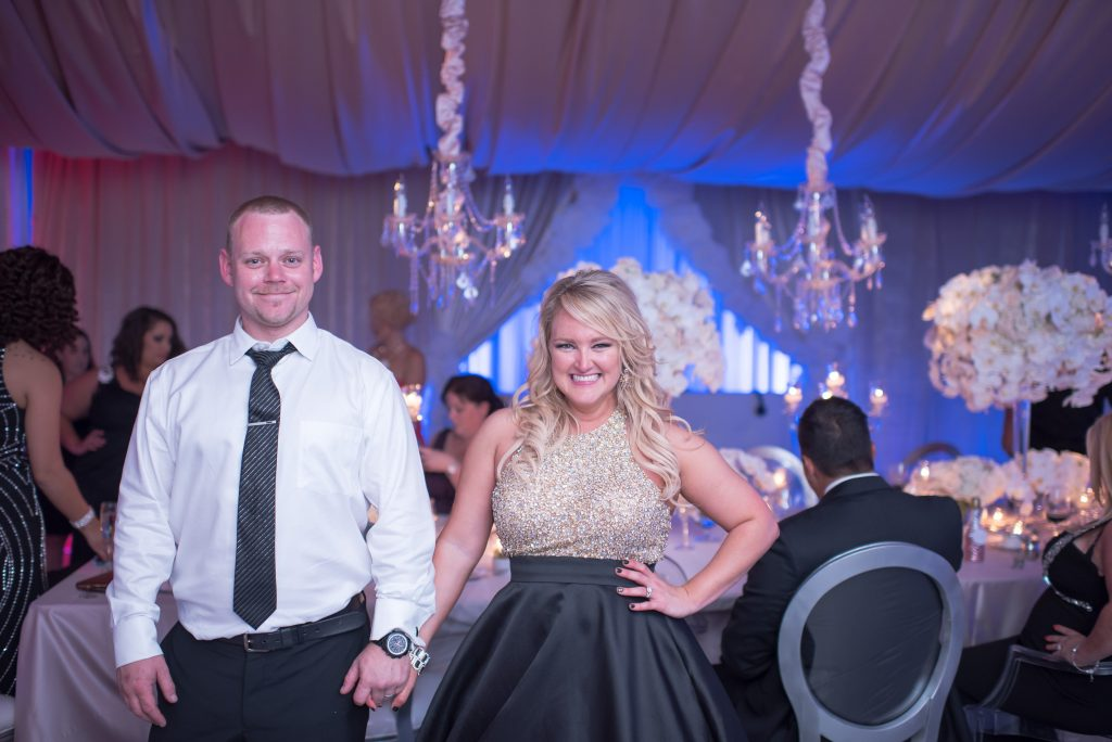 Kristin and Mark Party | Our DJ Rocks 5 Year Anniversary Party Heaven Event Center Anna Christine Events
