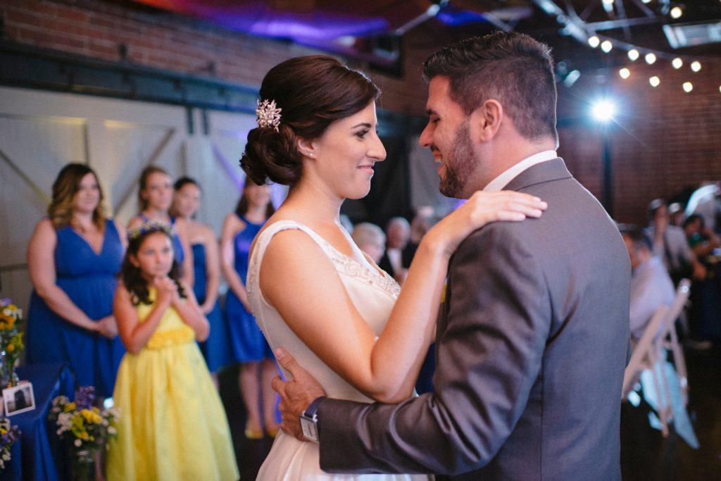 First Dance Reception | Fun Doctor Who British Wedding Pop Culture Geek Anna Christine Events Winter Park Farmers Market Orlando