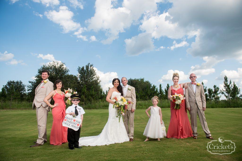 Bride & Groom Photo Shoot After Ceremony | Travel Themed Inspired Wedding Mission Inn Resort Orlando Florida Anna Christine Events Cricket's Photo & Cinema