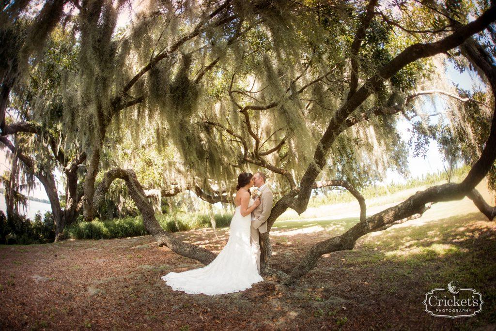 Bride & Groom Outdoor First Look Photo Shoot | Travel Themed Inspired Wedding Mission Inn Resort Orlando Florida Anna Christine Events Cricket's Photo & Cinema
