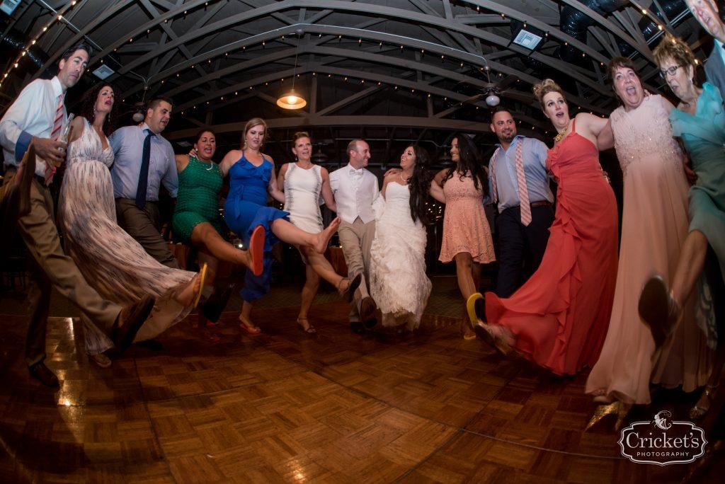 Open Dancing Kick Line | Travel Themed Inspired Wedding Mission Inn Resort Orlando Florida Anna Christine Events Cricket's Photo & Cinema
